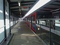 Tower Gateway DLR stn alighting platform look east2.JPG