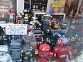 Toy robots collection Amsterdam 2009.jpg