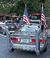 Toyota Camry art car Main Street downtown Hanover NH September 2015 rear.jpg