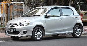 Toyota Etios - Etios Valco for Indonesian market