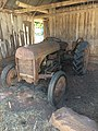 Tractor In Placerville Barn.jpg