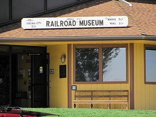 Virginia and Truckee Railroad Depot - Carson City United States historic place