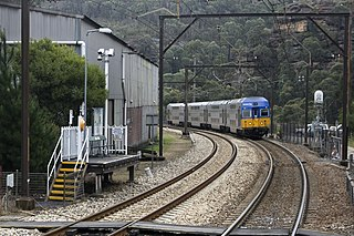Blue Mountains Line rail service in New South Wales, Australia