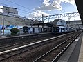 Trains of Kashii Line at Kashii Station 5.jpg