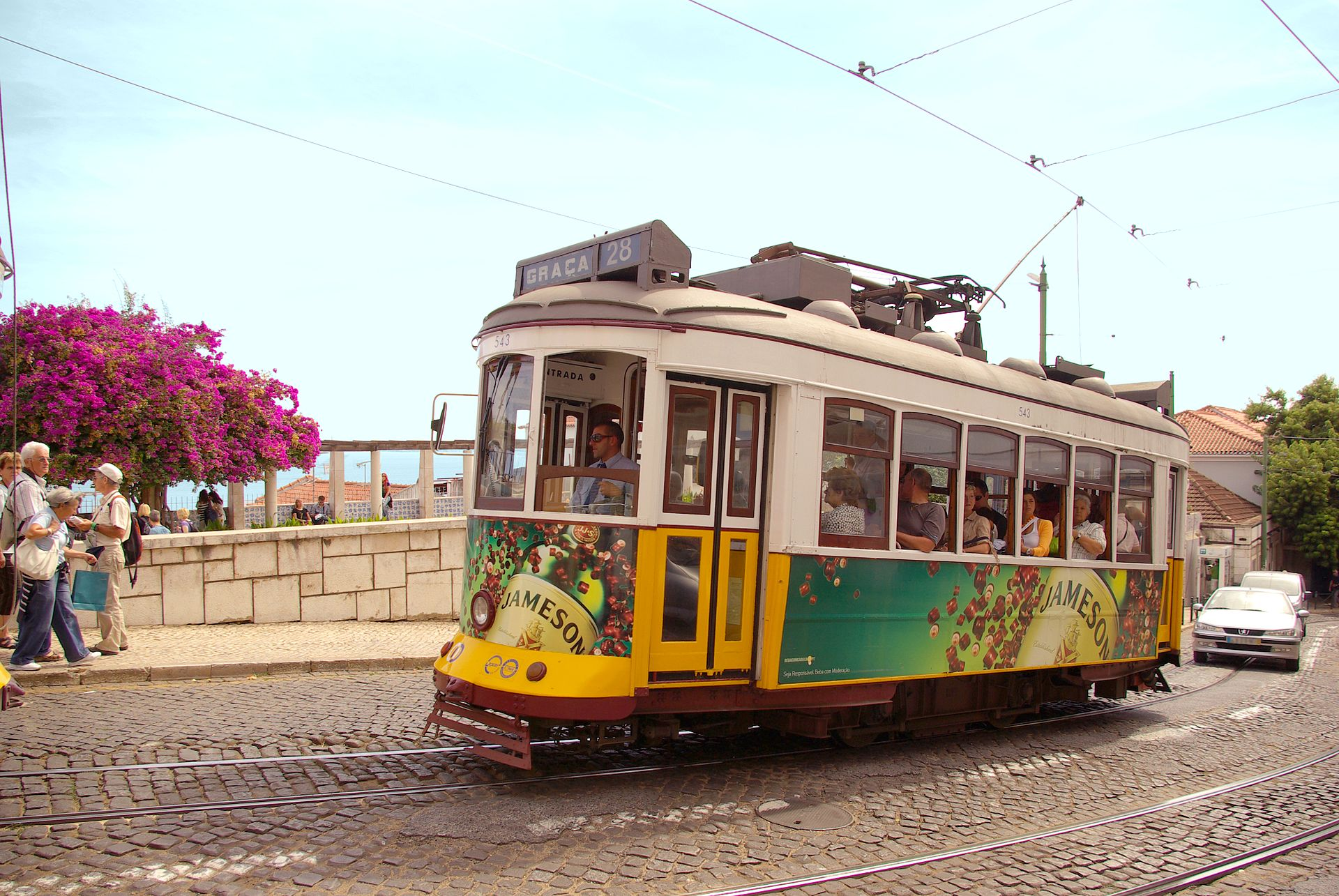 STREET VIEW : les tramways en action - Page 3 1920px-Tram28lisboa