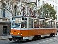 Tramway in Sofia in Alabin Street 2012 PD 003.jpg