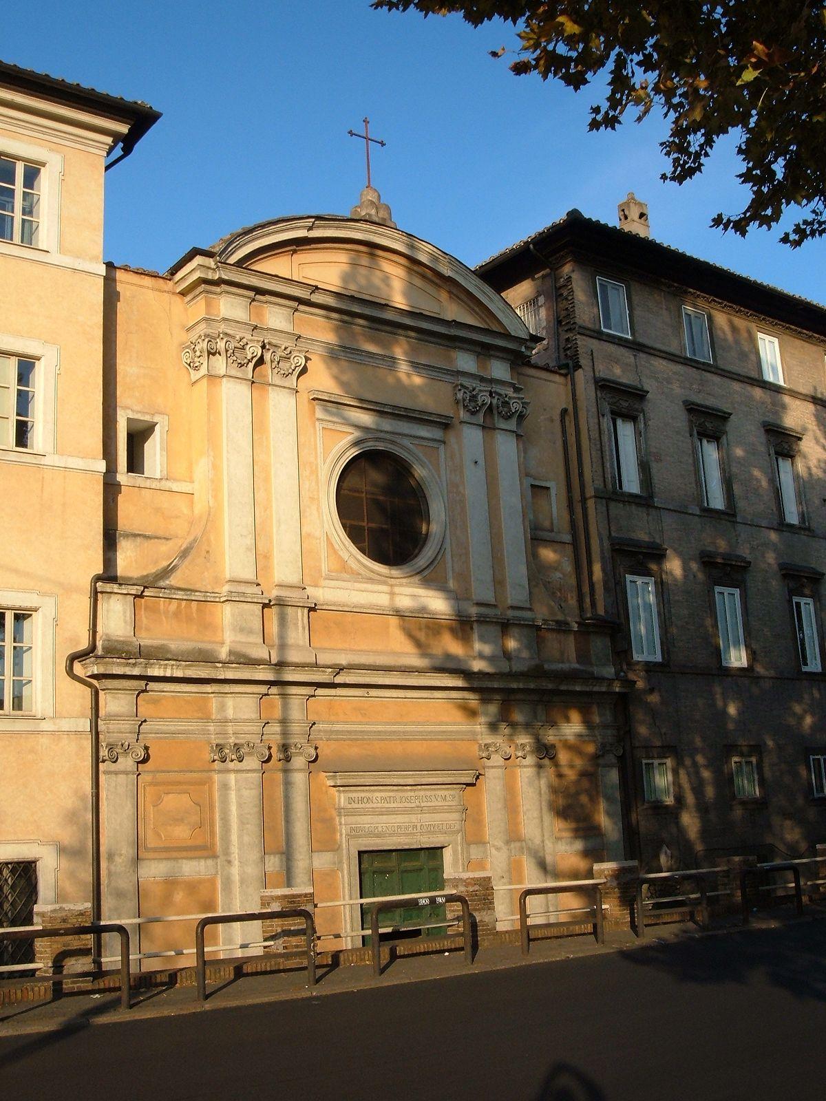 Chiesa di san giuseppe alla lungara wikipedia for Di giuseppe arredamenti roma