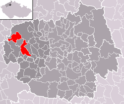 Location of Třebenice
