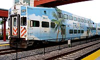 Tri-Rail is South Florida's commuter rail and connects it north to south