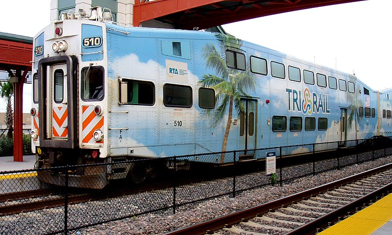 File:Tri-Rail at Delray Beach Station.jpg