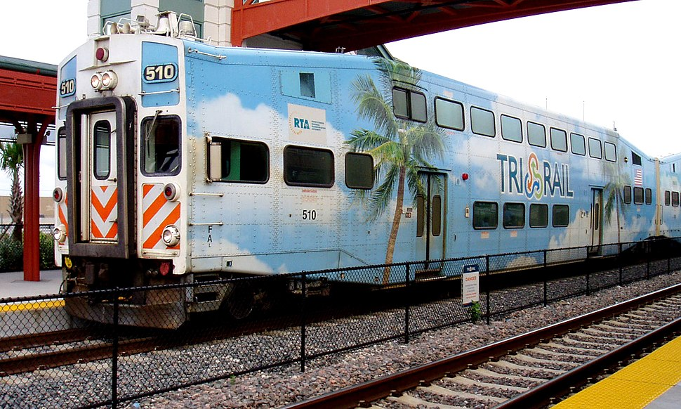Tri-Rail at Delray Beach Station