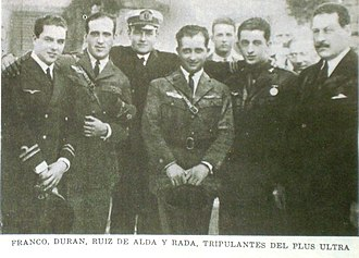 Plus Ultra (aircraft) - Crew of the Plus Ultra