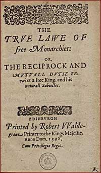 True Law of Free Monarchies