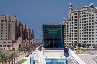 Trump International Hotel and Tower (Dubai) - Image: Trump tower station panoramio