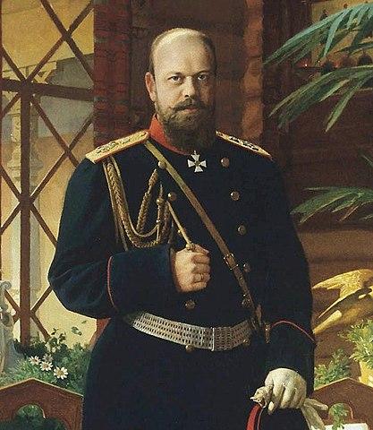 На посмертном портрете кисти Дмитриева-Оренбургского