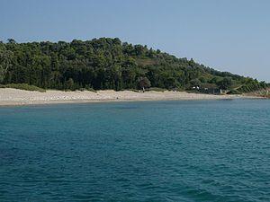 Tsoungria - The coastline of Tsoungria