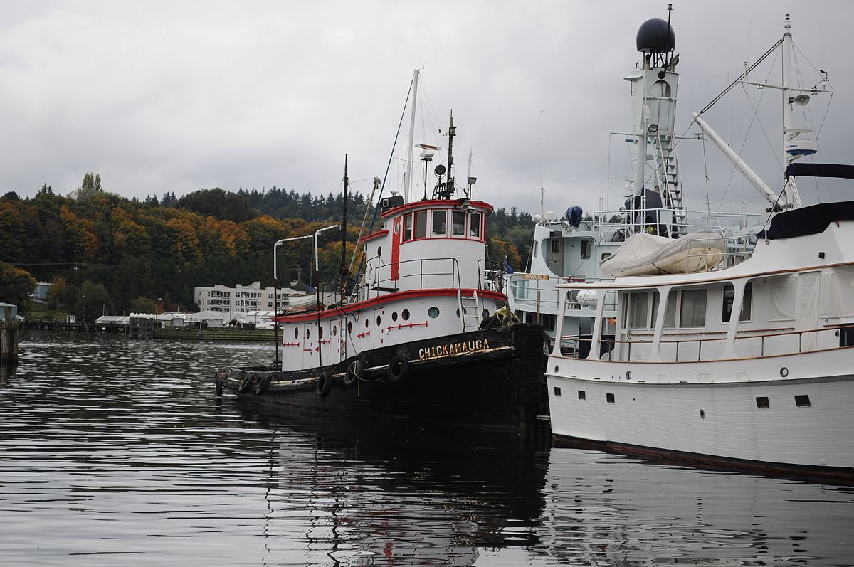 Chickamauga (tug boat) - Wikipedia
