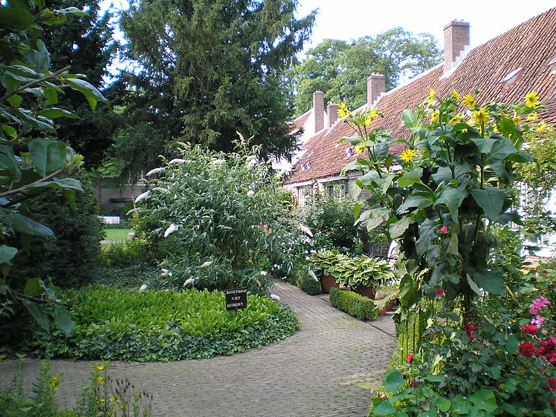 Bruntenhof Garden in Utrecht in the Netherlands