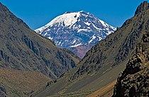 Tupungato volcano seen from punta de vacas argentina.jpg