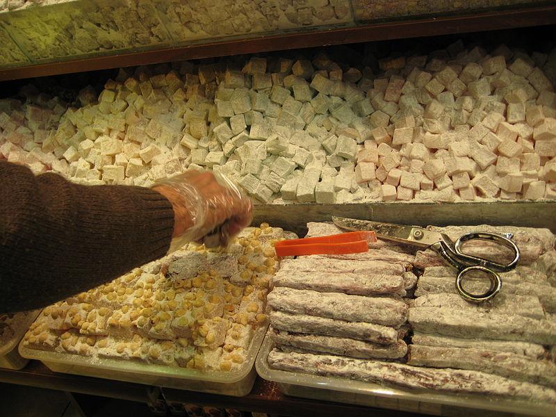 Turkish delight (lokum). From Best Street Foods in Istanbul, Turkey