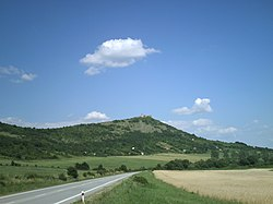 Turna castle view from west.JPG