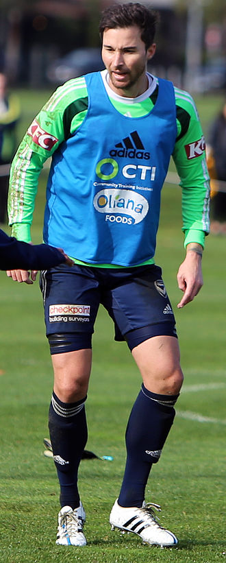Michael Turnbull (footballer) - Michael Turnbull training for Melbourne Victory in 2015