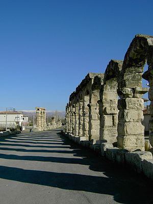 Tyana - The Roman aqueduct of Tyana