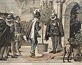 Tyge Brahe modtager James 6. på Uranieborg (9288947035).jpg