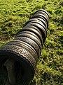 Tyre Jump, Rora Down - geograph.org.uk - 1012930.jpg