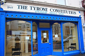 Tyrone Constitution - Tyrone Constitution, High Street, Omagh, January 2010