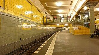 Hermannplatz (Berlin U-Bahn) - Platform of the U7