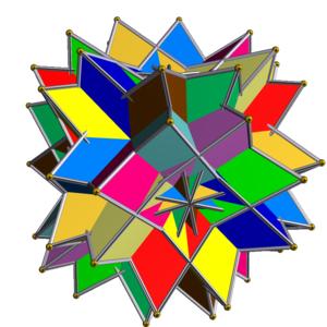 Uniform polyhedron compound - Image: UC02 12 tetrahedra