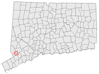 Georgetown in southwestern Connecticut