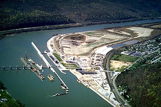 Kanawha River - Image: USACE Winfield Lock West Virginia