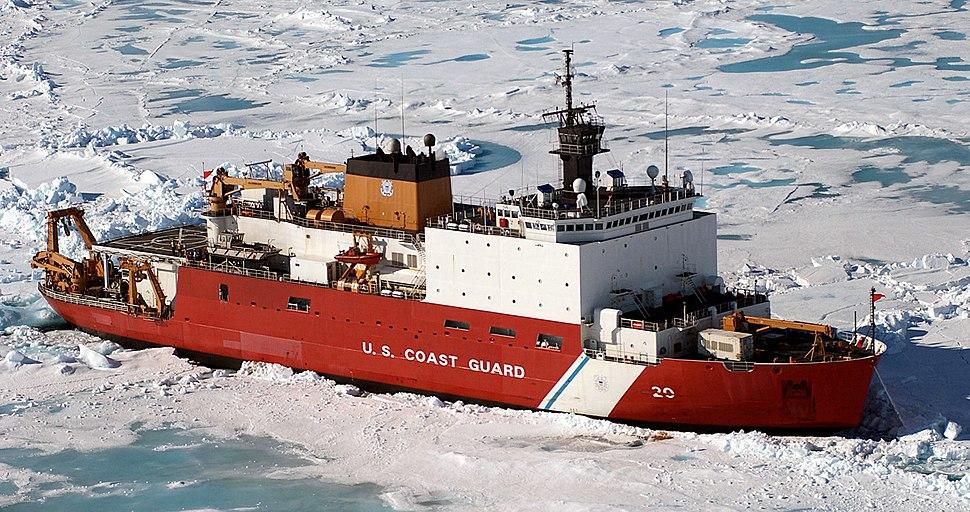 USCGC Healy (WAGB-20) north of Alaska