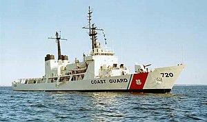 USCGC Sherman (WHEC-720) - Image: USCGC Sherman WHEC 720 Vietnam War