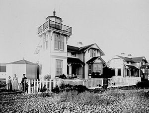 Ballast Point Lighthouse - Lighthouse, U.S. Coast Guard Archive
