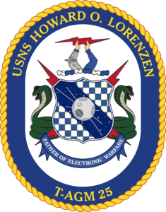 USNS Howard O Lorenzen coat of arms.png