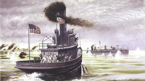 Battle of Cárdenas - Image: USRC Hudson and USRC Winslow