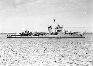 USS Walke (DD-416) soon after completion, c. 1940.