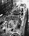 USS Cleveland (CL-55) during construction, 1 October 1941.jpg