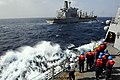 USS Farragut approaches USNS Walter S. Diehl. (8339126982).jpg