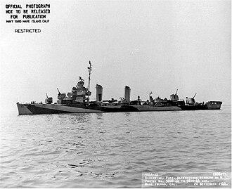 USS Frazier - InsertAltTextHere