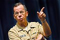 US Navy 060823-N-0696M-039 Chief of Naval Operations (CNO) Adm. Mike Mullen answers questions during an all-hands call in the auditorium at the Pentagon.jpg