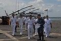 US Navy 101115-N-9706M-216 Ensign Nicholas Ruesch leads Malaysian navy officers on a tour aboard the amphibious transport dock ship USS Dubuque (LP.jpg