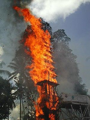 Ngaben - Ngaben cremation