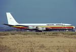 Uganda Airlines Boeing 707-320C 5X-UAC FCO Oct 1987.png