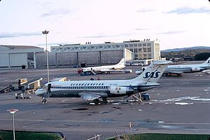 Ransom (1974 film) - Large portions of the film were shot at Oslo Airport, Fornebu, here depicted in 1972