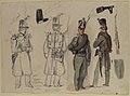 Uniforms of the civil guard in Courtray, Belgium MET 1993.1130.2.jpg