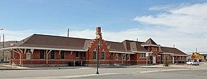 Union Pacific Railroad Depot Rawlins Wyoming Wikipedia